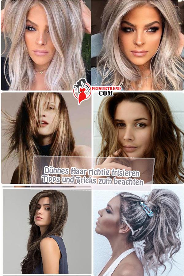 Dünnes Haar richtig frisieren – Tipps und Tricks zum ...