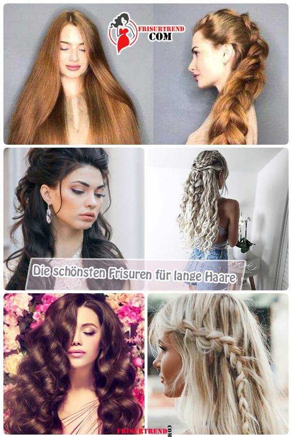 Die schönsten Frisuren für lange Haare