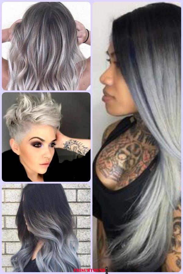 Silber Haare Trend