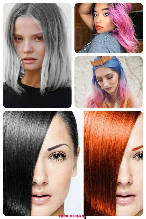 Passende Haarfarbe Finden